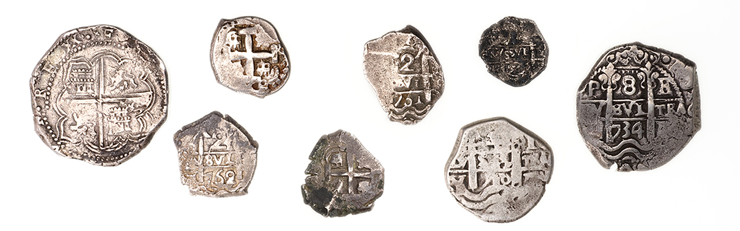 Pièces de monnaies fabriquées à la main