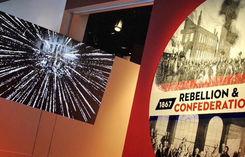 Affiche et entrée de l'exposition
