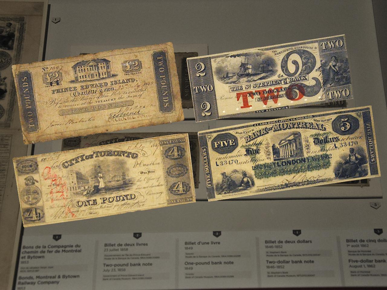 Anciens billets de banque