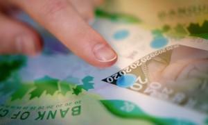 Détails d'un billet de banque