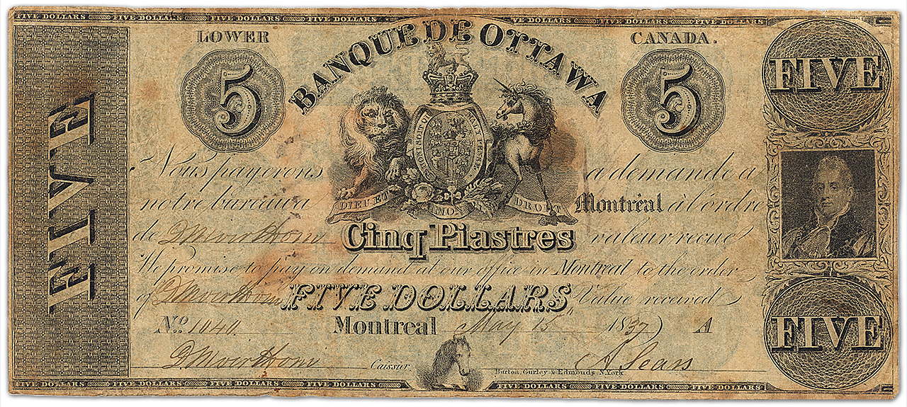Vieux billet de banque