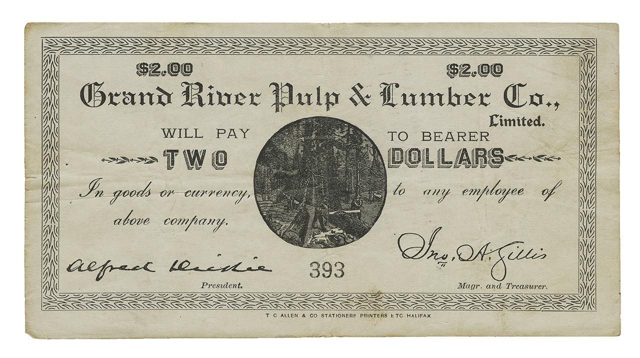 Billet de papier