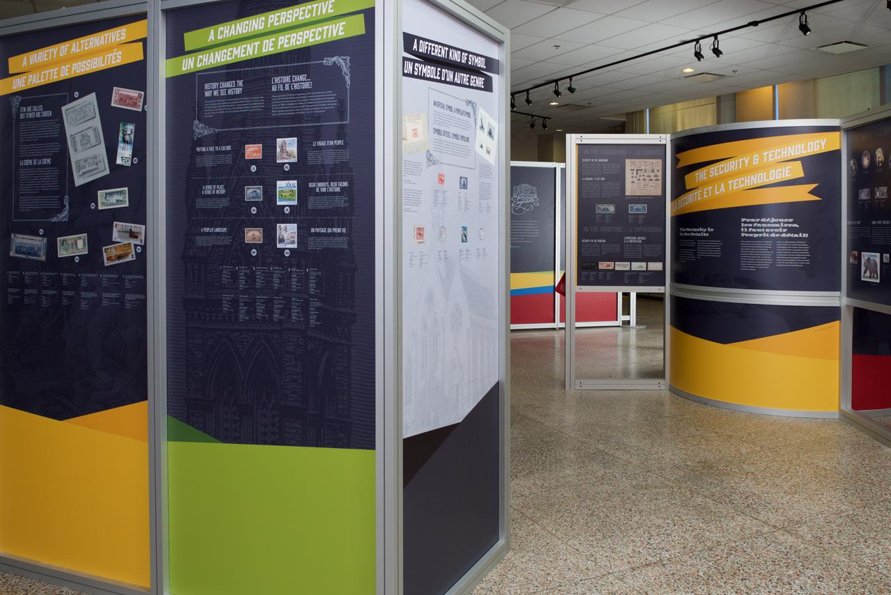 Composantes de l'exposition