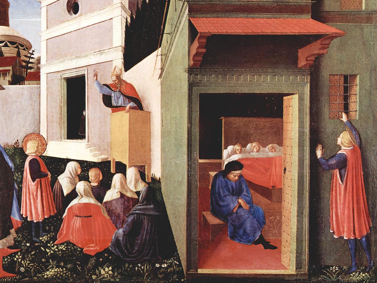 peinture de 1437 par Fra Angelico