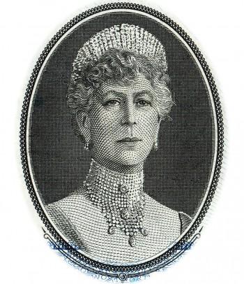 billet de banque sur lequel figure la reine Marie