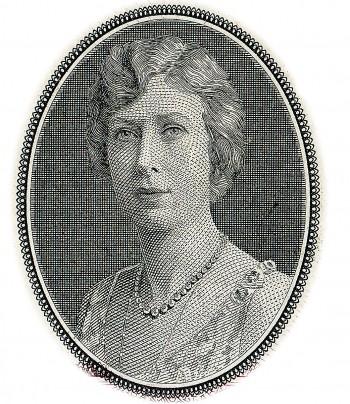 billet de banque à l'effigie de la princesse Marie