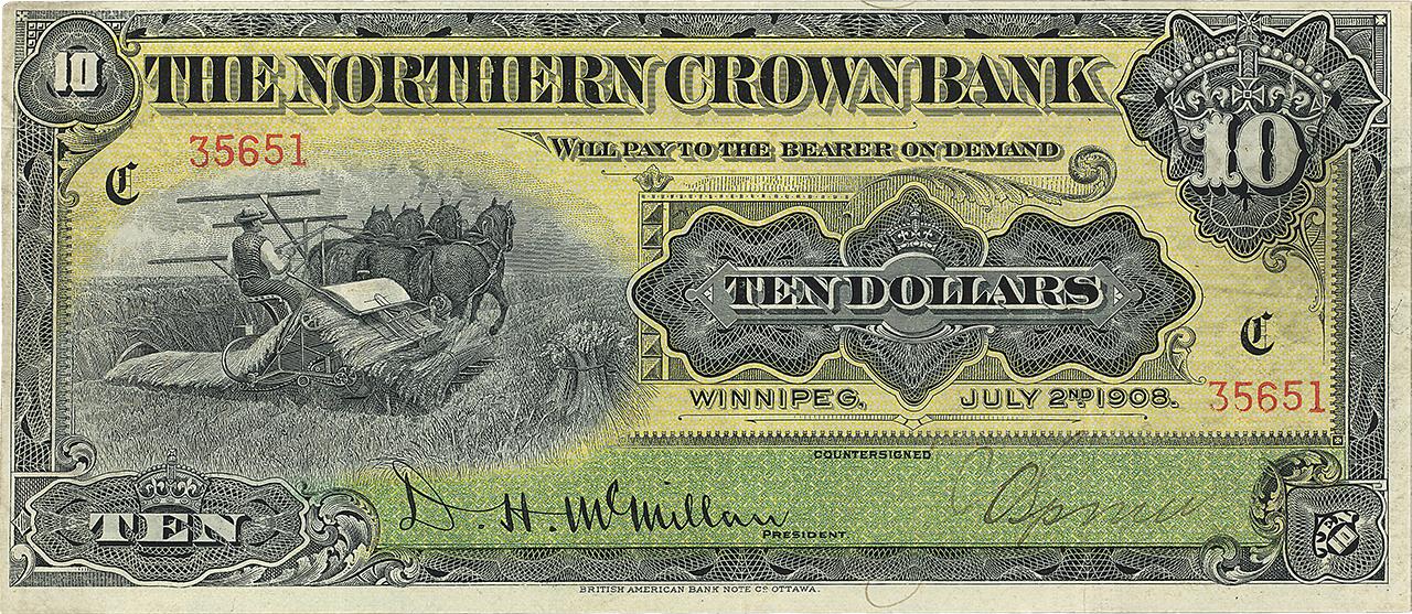 billet de banque de 10 dollars