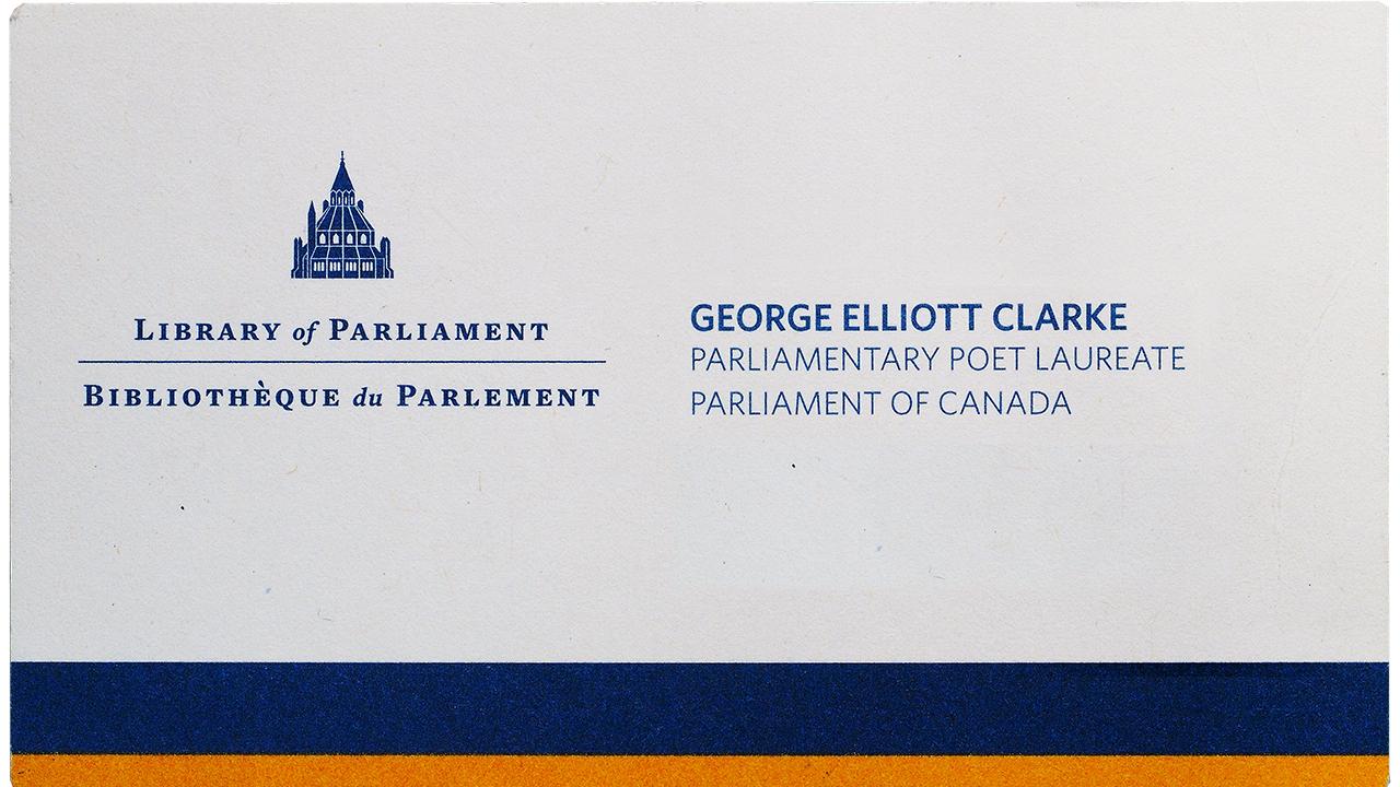 carte de visite de George Elliot Clarke