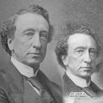 image d'époque de John A. Macdonald