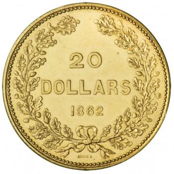 pièce d'or de 20 dollars