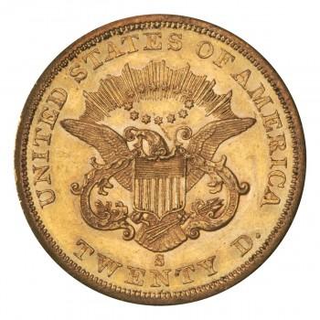 pièce d'or américaine de 20 dollars