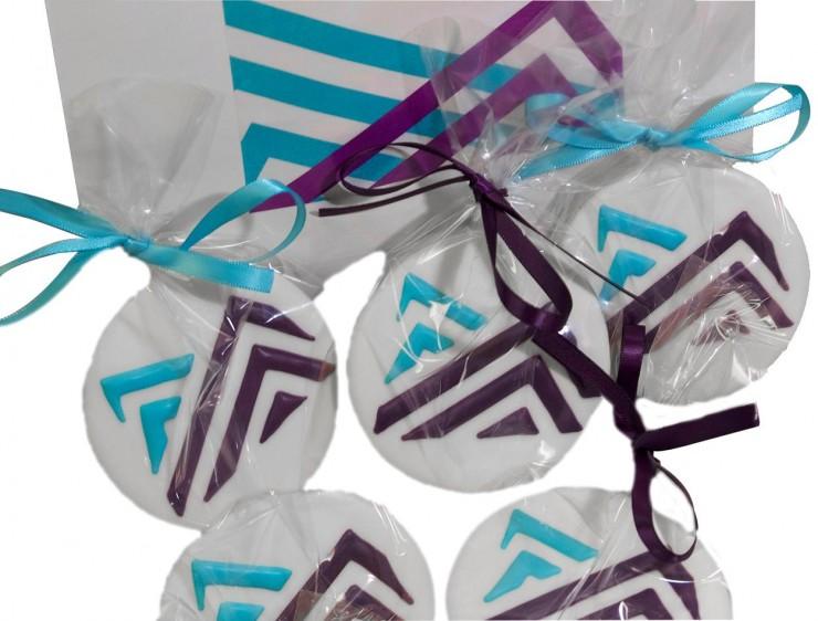 biscuits ornés du logo du Musée