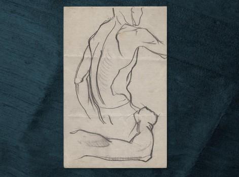 dessin d'homme