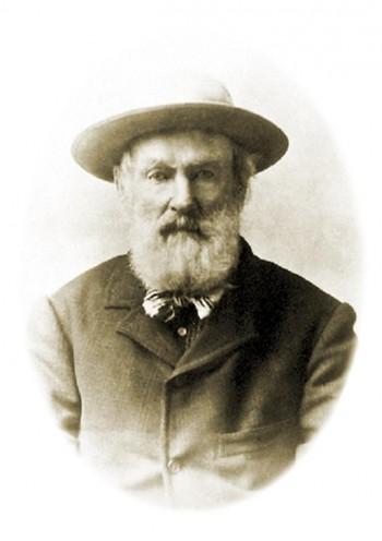 portrait d'un homme du XIXe siècle