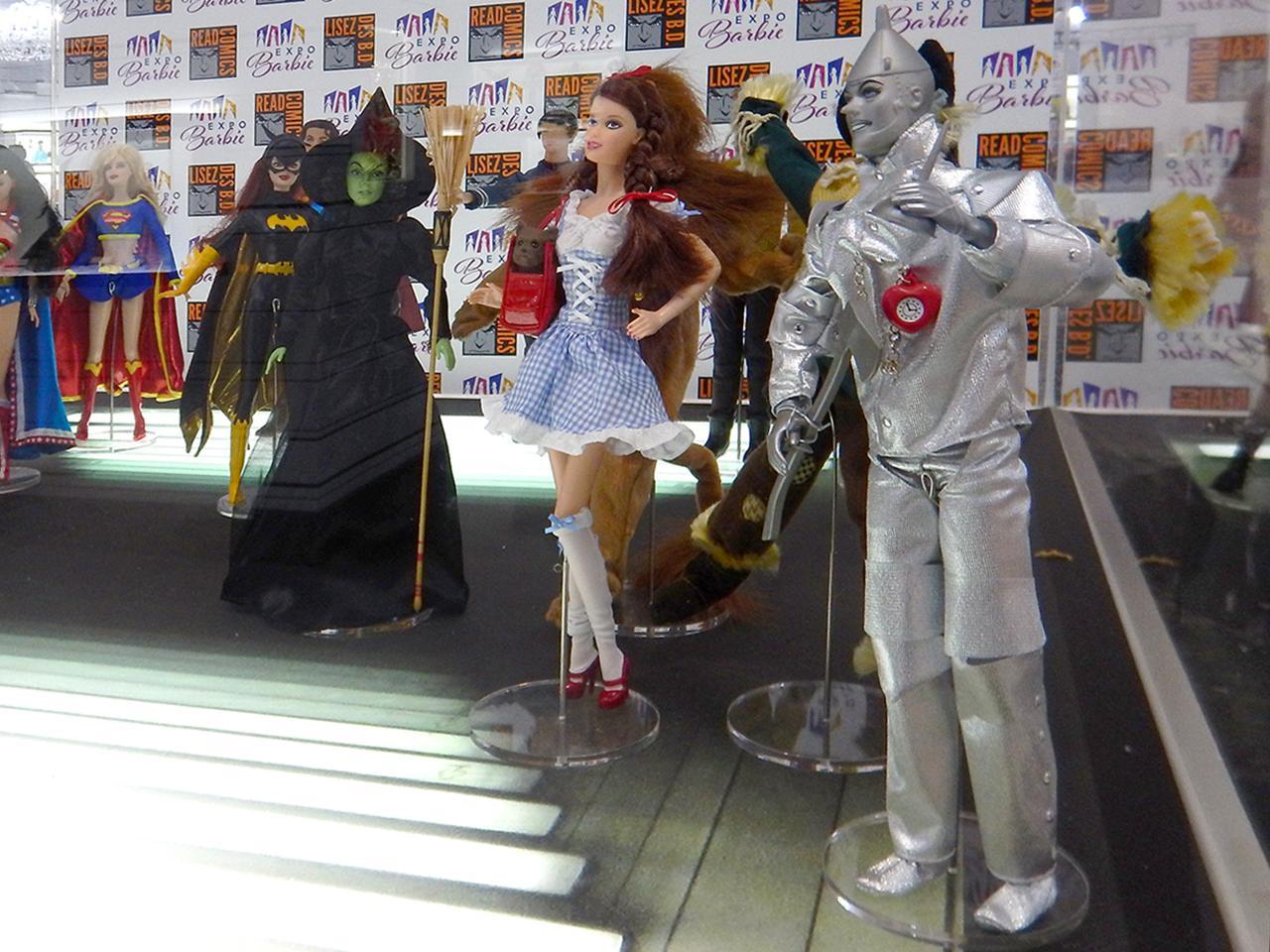 poupées inspirées du Magicien d'Oz