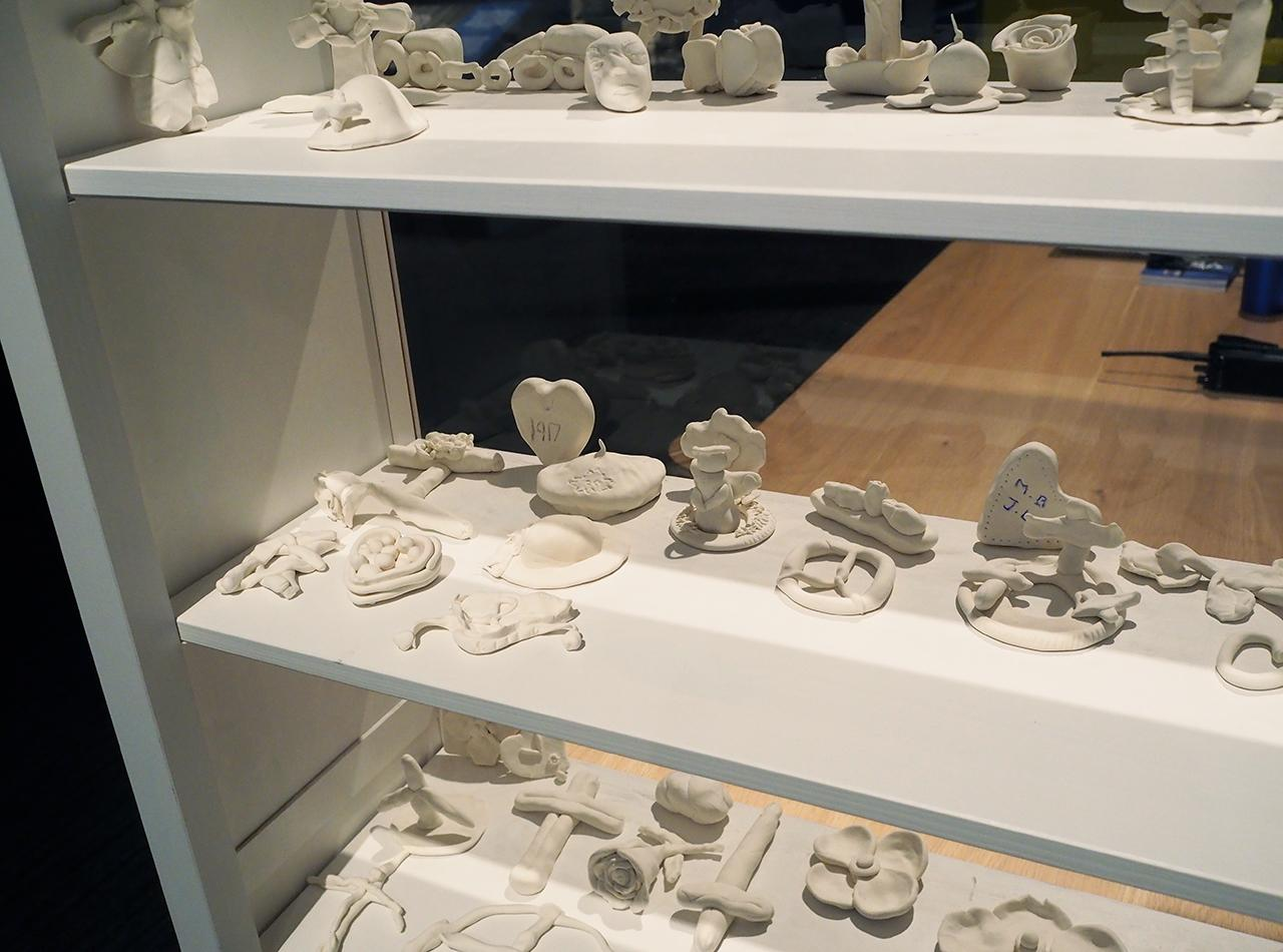sculpture en pâte à modeler