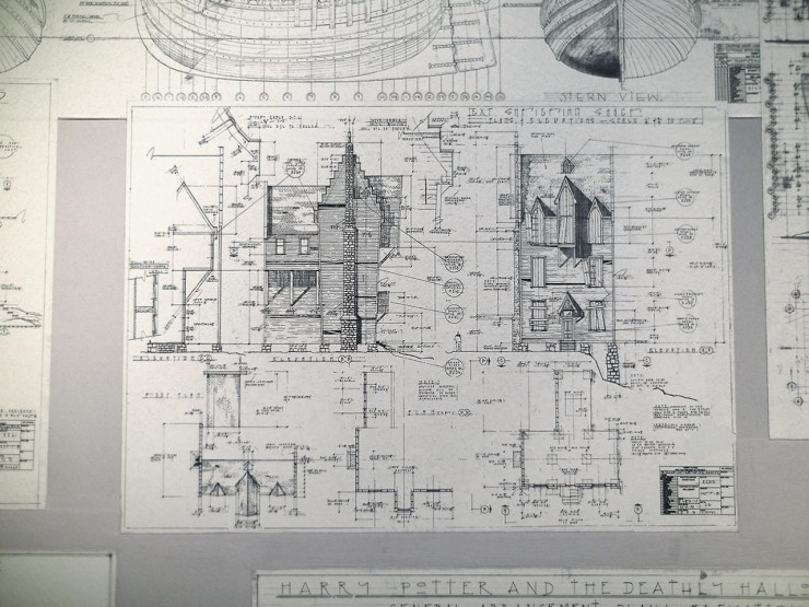 ensemble de plans architecturaux