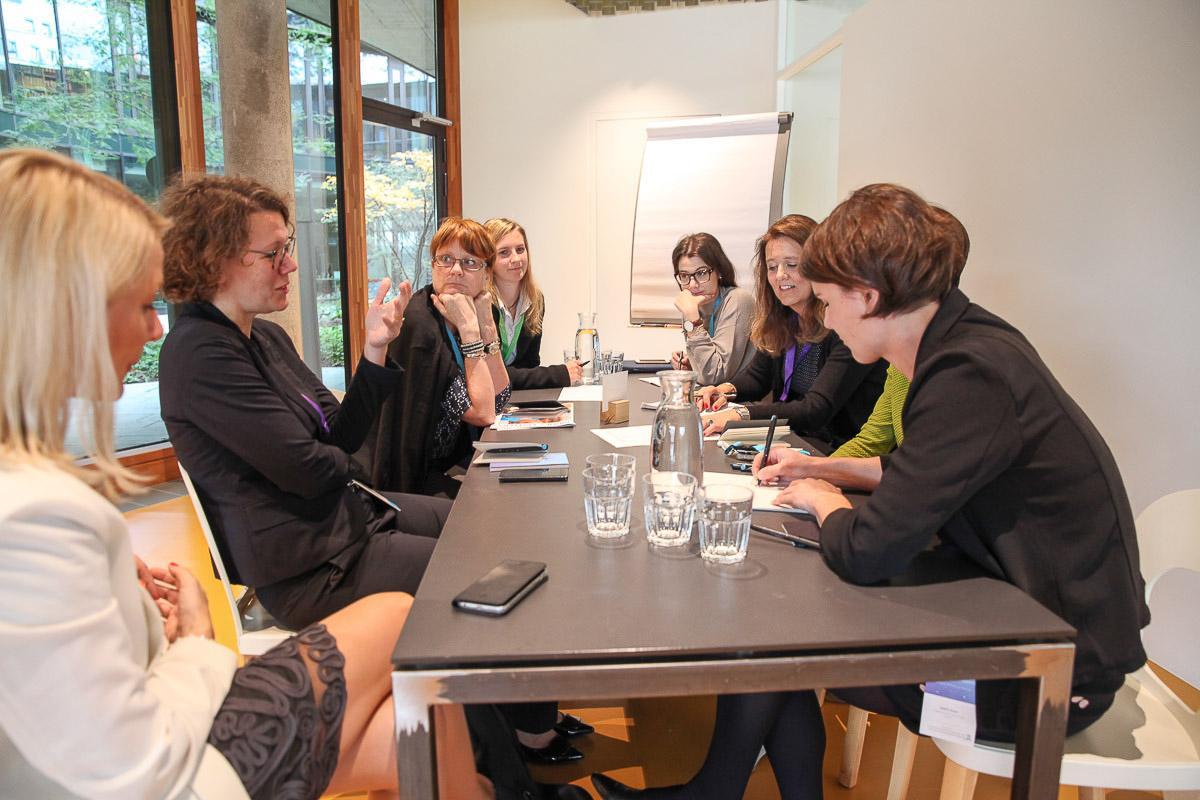 Atelier de l'IFFM sur la culture économique et les enjeux liés à l'égalité des sexes.