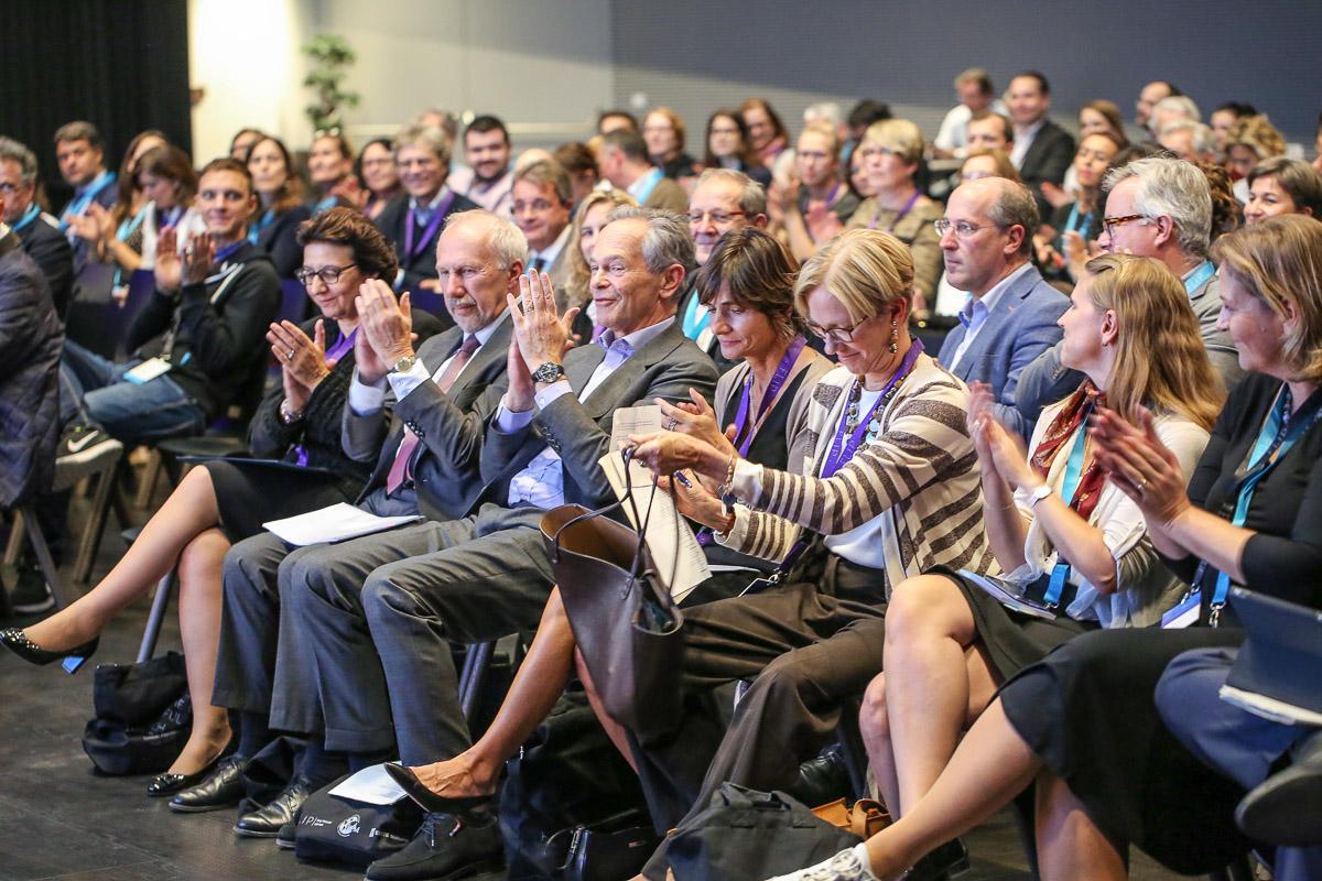 L'IFFM réunit des représentants d'Amérique, d'Europe, d'Asie et d'Afrique.