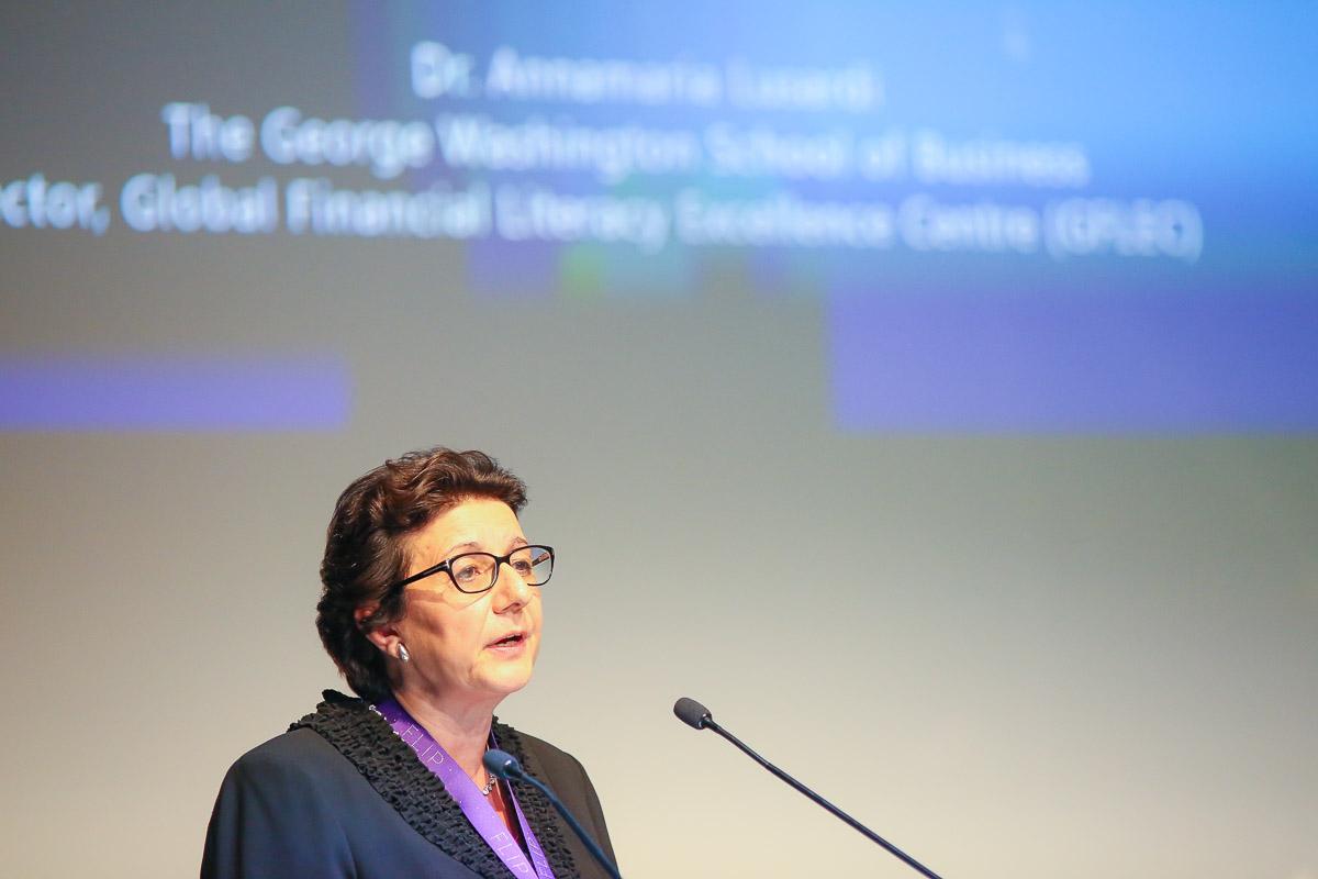 IAnnamaria Lusardi, directrice du programme éducatif du Global Financial Literacy Centre à Washington.