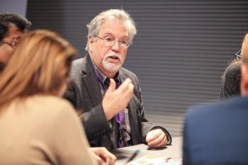 J'ai pu participer à divers ateliers en compagnie d'homologues de partout dans le monde.