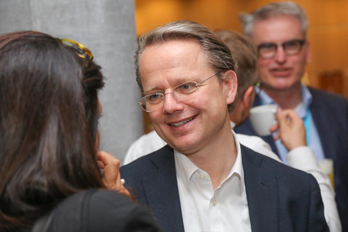 Philip List, directeur de l'Erste Financial Life Park, à Vienne, en Autriche.