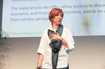 Silvia Singer, première dirigeante du Museo Interactivo de Economía (MIDE) à Mexico. Le MIDE a beaucoup inspiré la création du Musée de la Banque du Canada.
