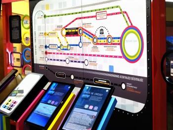 carte « réseau » et écrans