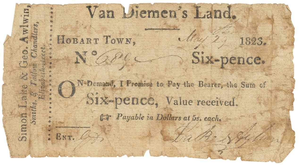 billet de papier usé