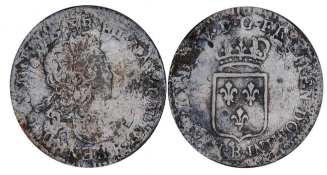 vieilles pièces de monnaie d'argent