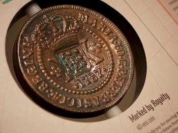 reproduction d'une pièce de monnaie