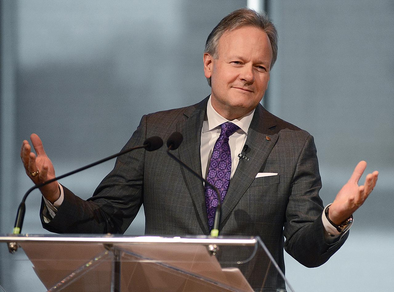 Stephen S. Poloz pendant son allocution