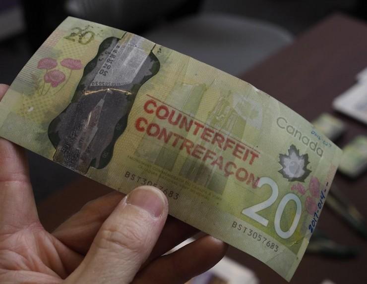 faux billet de 20 $