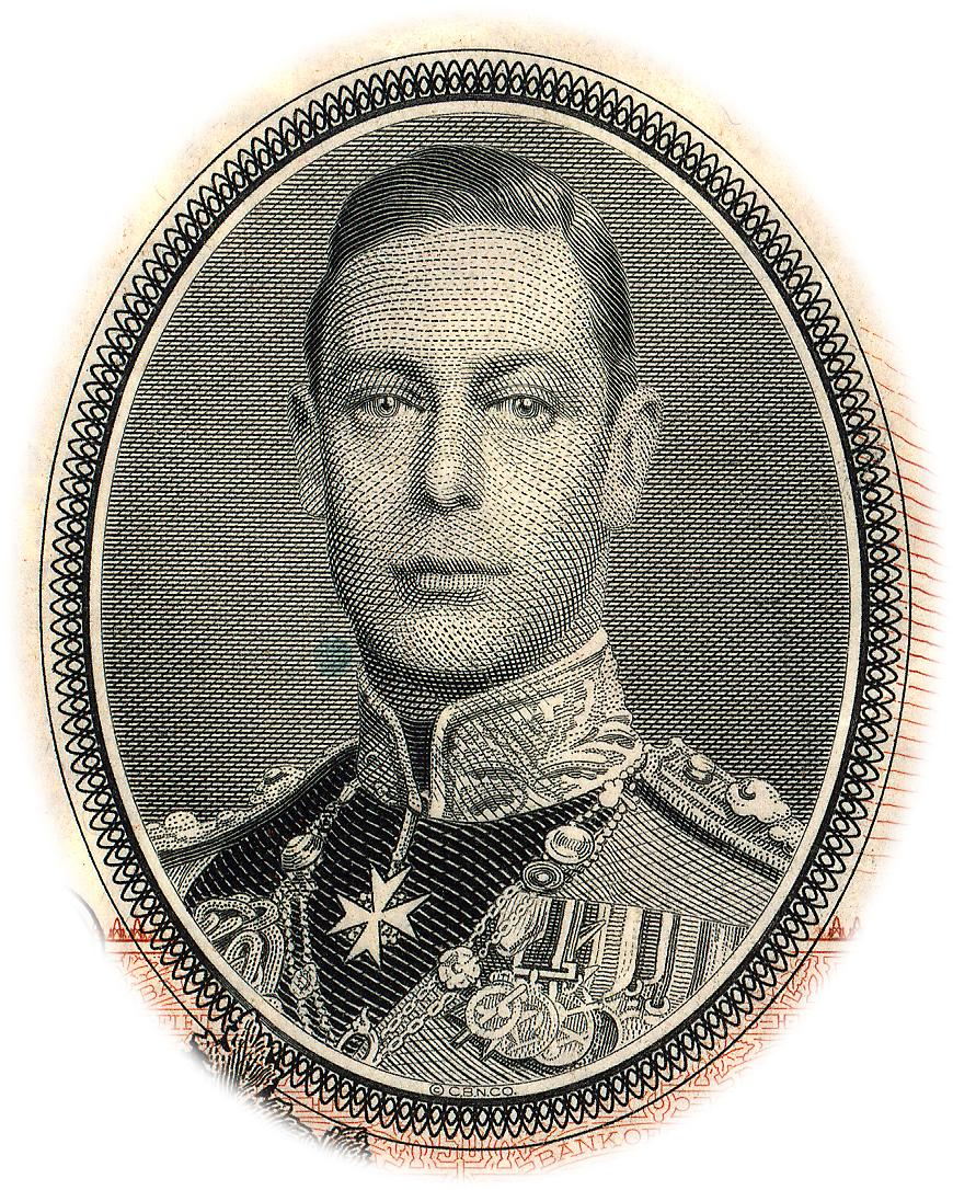portrait du roi George V