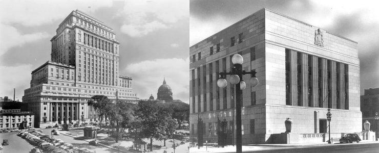 bâtiments de banque