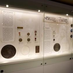 présentoir du Musée