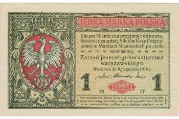 ancien billet de banque allemand arborant l'aigle et la couronne