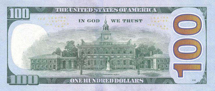 billet américain de 100 $