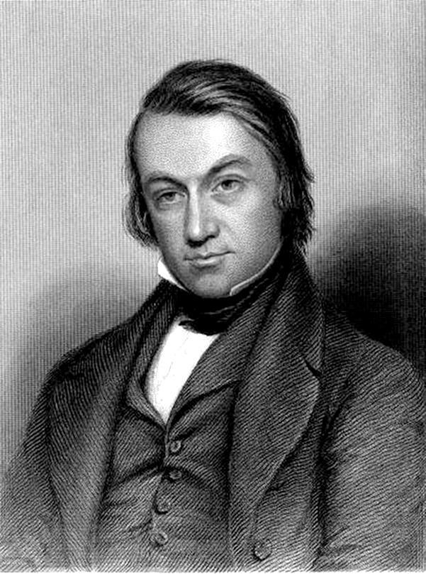 gravure de Charles Mackay, figure du XIXe siècle